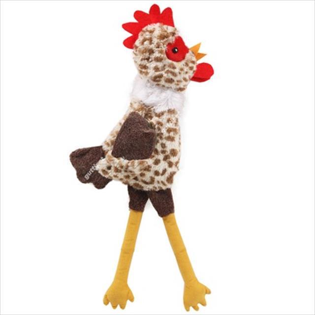 brinquedo guttipet galinha com pernas longas