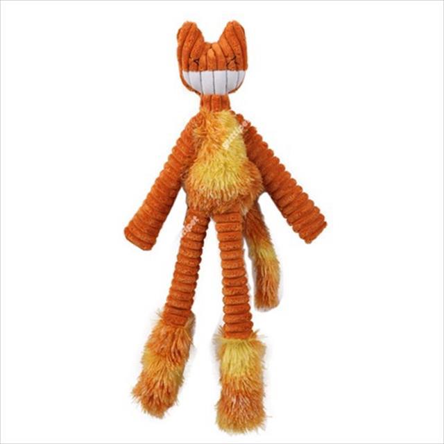 brinquedo guttipet gatinho sorridente - laranja