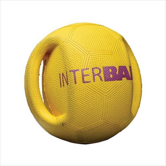 brinquedo interativo duki bola interball - amarelo brinquedo duki bola interball amarelo - grande
