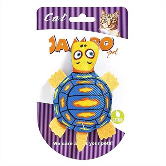 brinquedo mordedor jambo caricat tartaruga para gatos