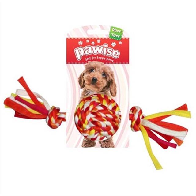 brinquedo pawise bola de corda colorida