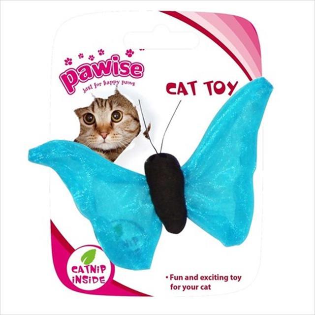 brinquedo pawise borboleta - azul