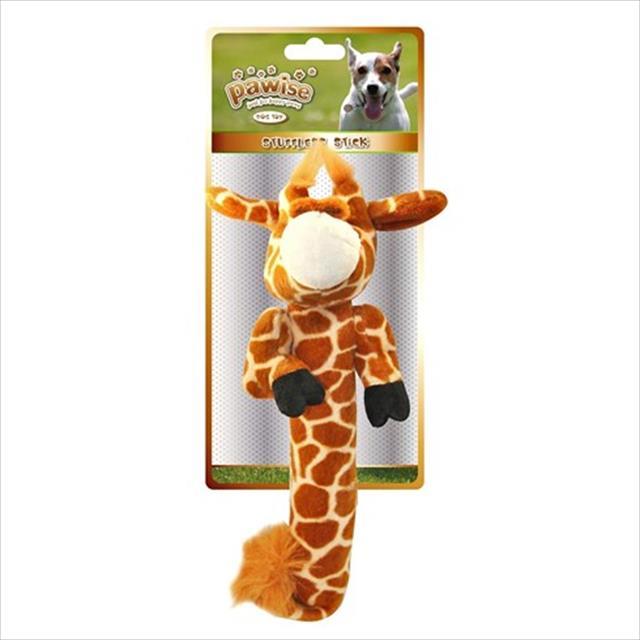 brinquedo pawise girafa de pelúcia com enchimento