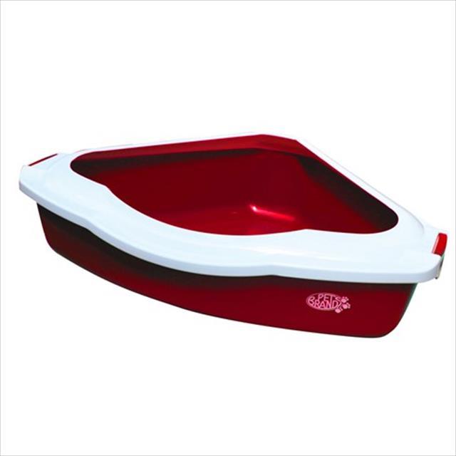 caixa de areia duki triangular - vermelho