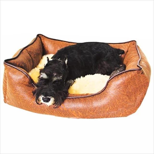 cama belga chalesco marrom - tamanho m