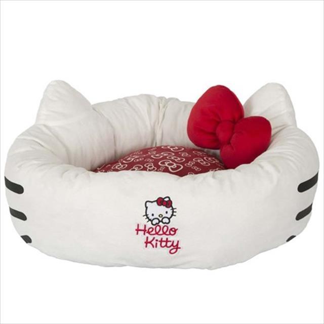 cama hello kitty donut com orelinhas
