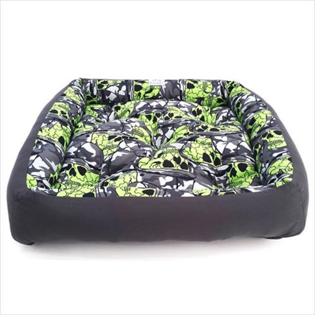 cama pickorruchos comfort caveira - tam g