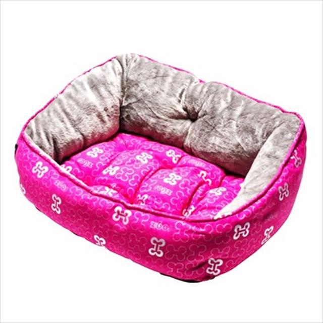 cama rogz trendy - rosa