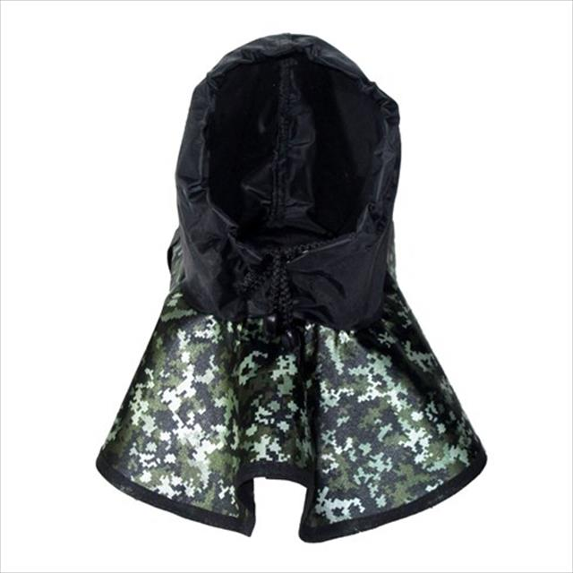 capa de chuva futon dog - camuflado capa de chuva futon dog camuflado - tam p