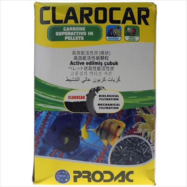 carvão vegetal prodac clarocar - 1kg