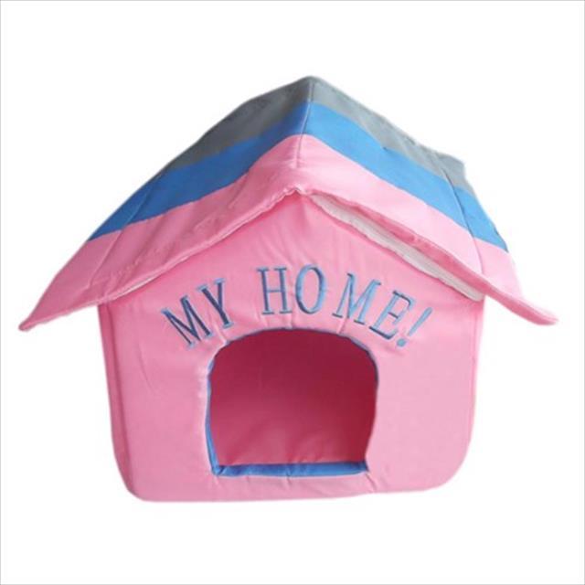 casa american pets estilo - rosa