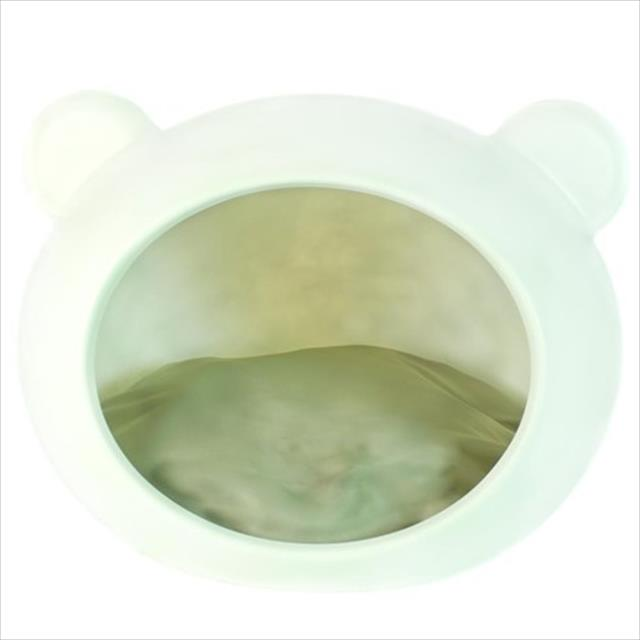 casa guisa pet dog cave grande branco - almofada natural
