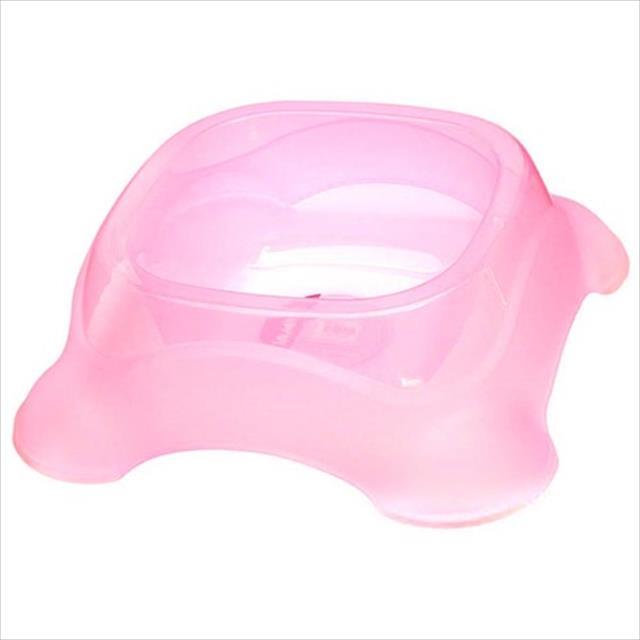 comedouro jambo de plástico - rosa comedouro jambo de plástico rosa - 2,3 litros