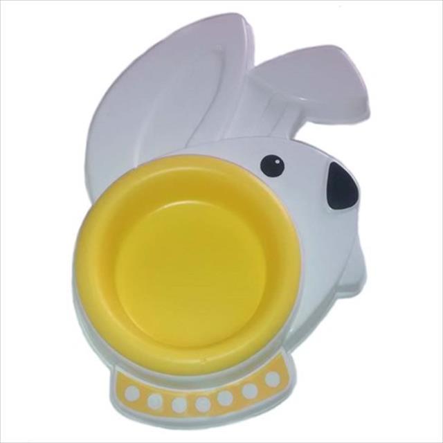 comedouro pet we coelho amarelo - 200ml
