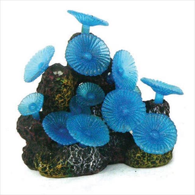 enfeite de aquário craft coral mushroom combo