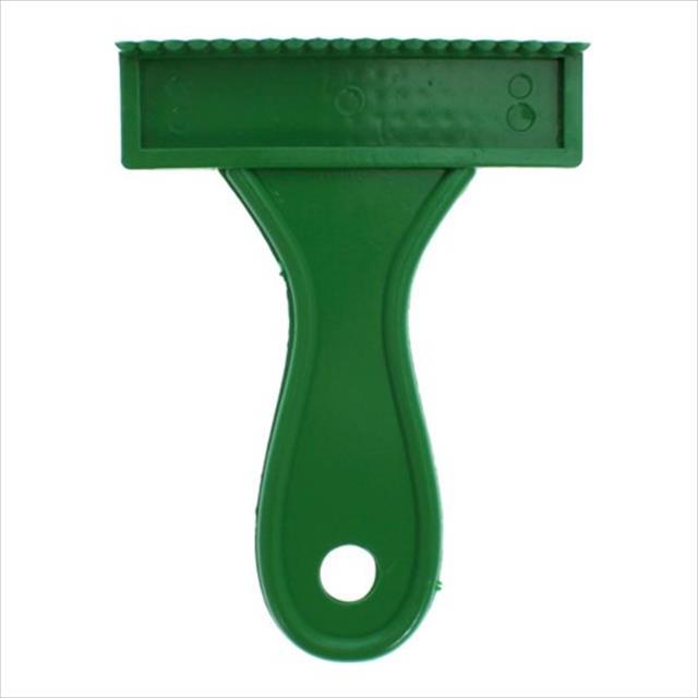 escova plástico rastelo baixa - verde