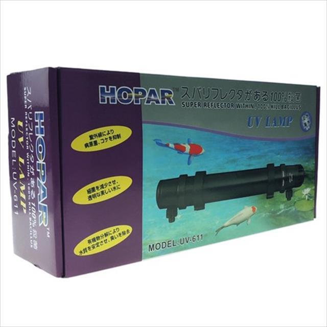 filtro hopar com ultra violeta uv-611 de 24w e 1000 litros/hora - 220v