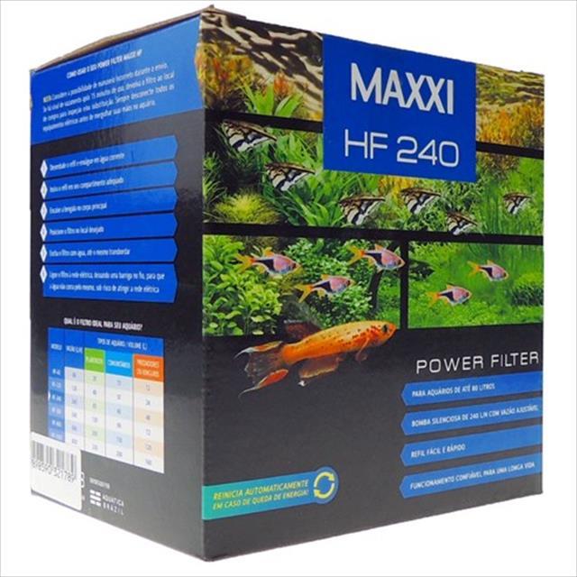 filtro maxxi power 240 litros/hora hf-240 - 220v