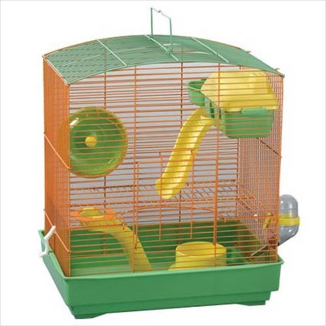 gaiola mr pet para hamster mr house - two floors