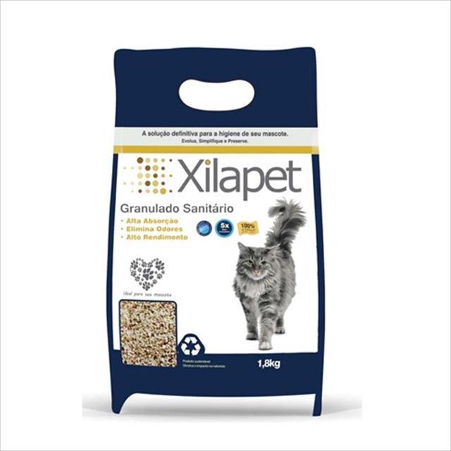 granulado sanitário xilapet para gatos - 1,8kg