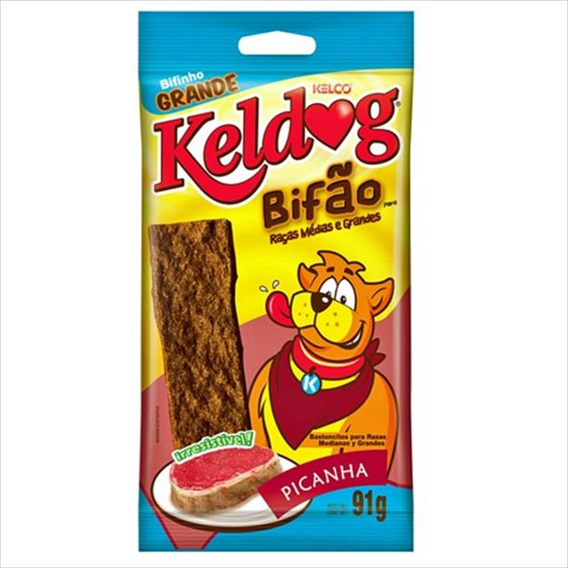 bifão keldog sabor picanha - 91 g