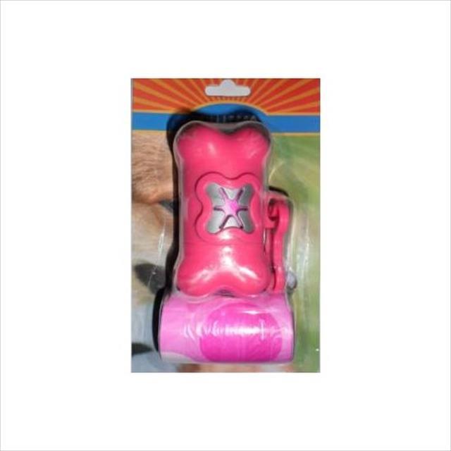 kit higiene para coleiras (cata caca) - rosa