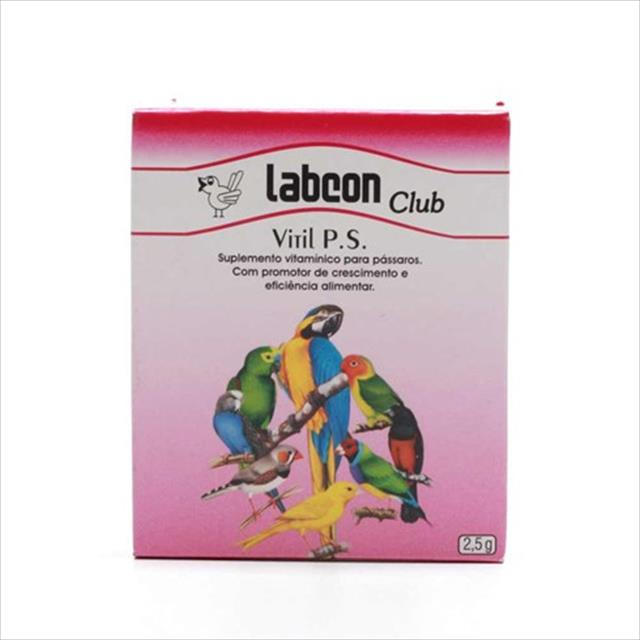 labcon club vitil p.s - 10 capsulas