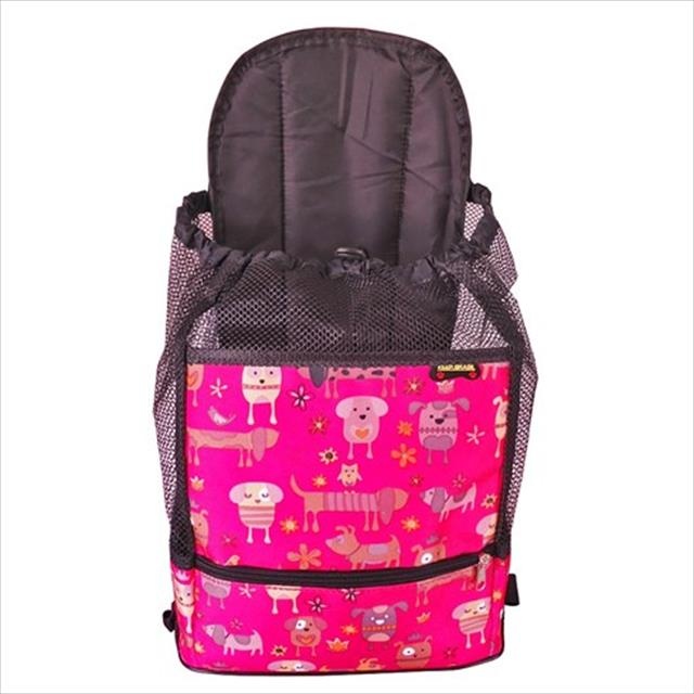 mochila de transporte keep pet - rosa
