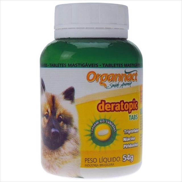 organnact deratopictabs - 60 comprimidos