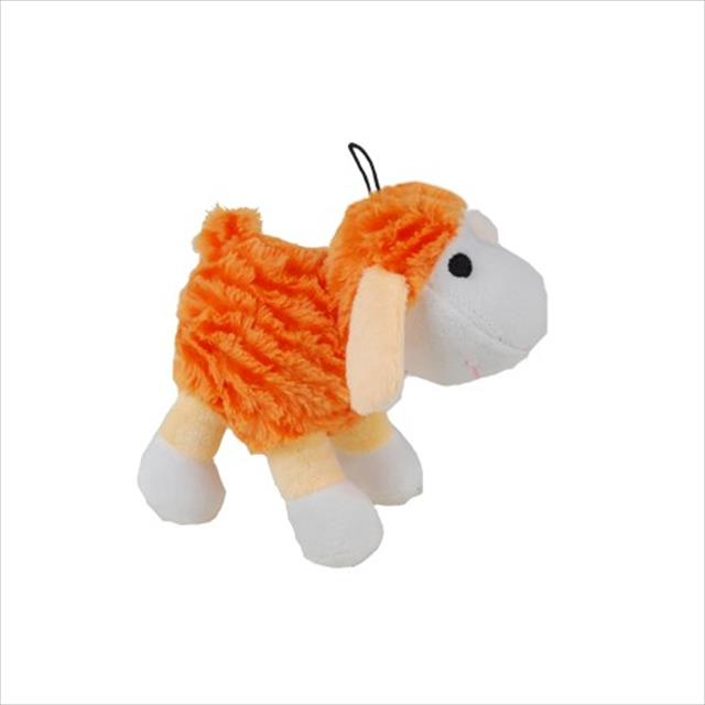pelúcia ovelhinha laranja - petix