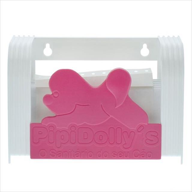 porta toalha pipidollys - rosa
