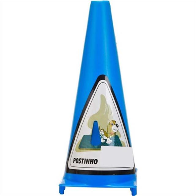 postinho sanitário para cães - azul