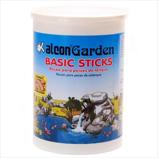 ração alcon garden basic sticks - 100gr