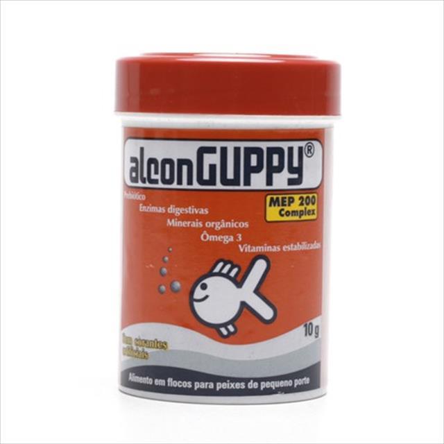 ração alcon guppy - 10gr