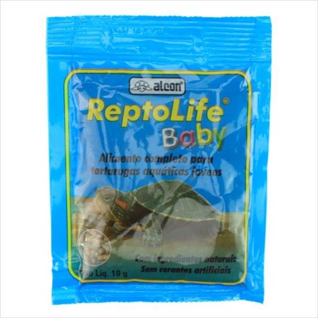 ração alcon reptolife para tartaruga baby - 10gr