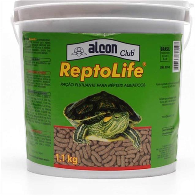 ração alcon reptolife para tartarugas ração alcon reptolife para tartaruga - 1,1kg