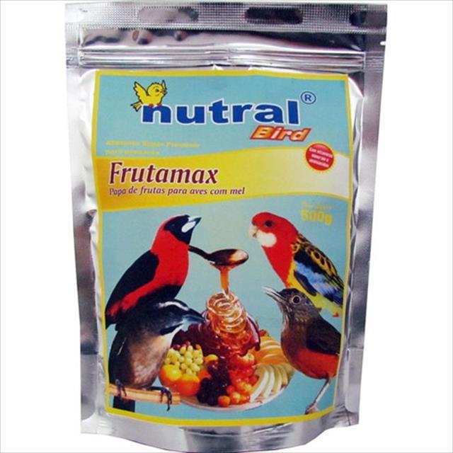 ração nutral bird frutamax papa de frutas com mel para aves - 2 kg