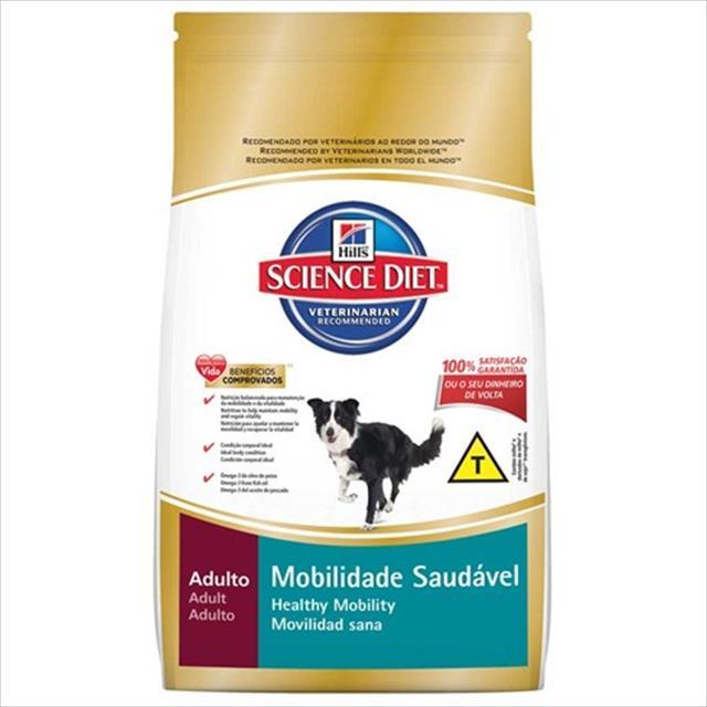 ração hills science diet canino adulto mobilidade saudável -12 kg