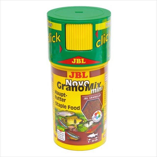 ração jbl novo grano mix mini click - 42gr