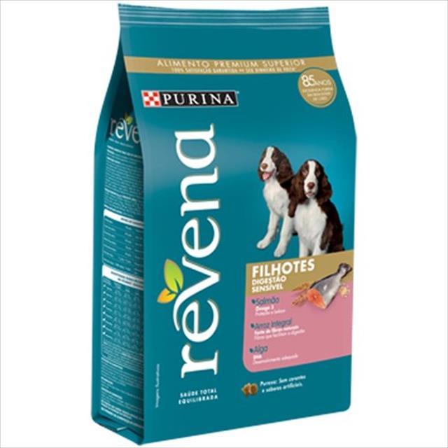 ração nestlé purina revena para cães digestão sensível filhotes - 3kg
