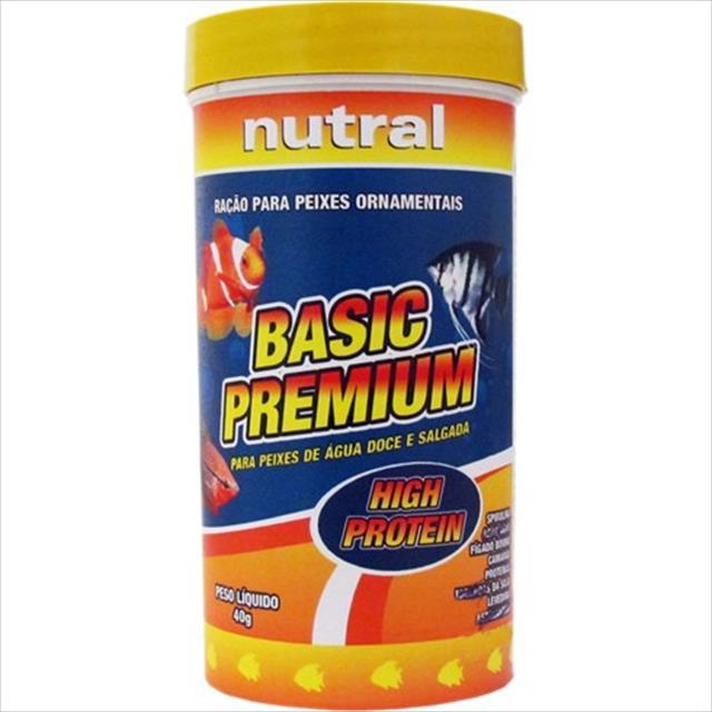 ração nutral basic premium - 40gr