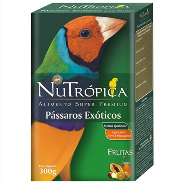 ração nutrópica para pássaros exóticos - 5kg