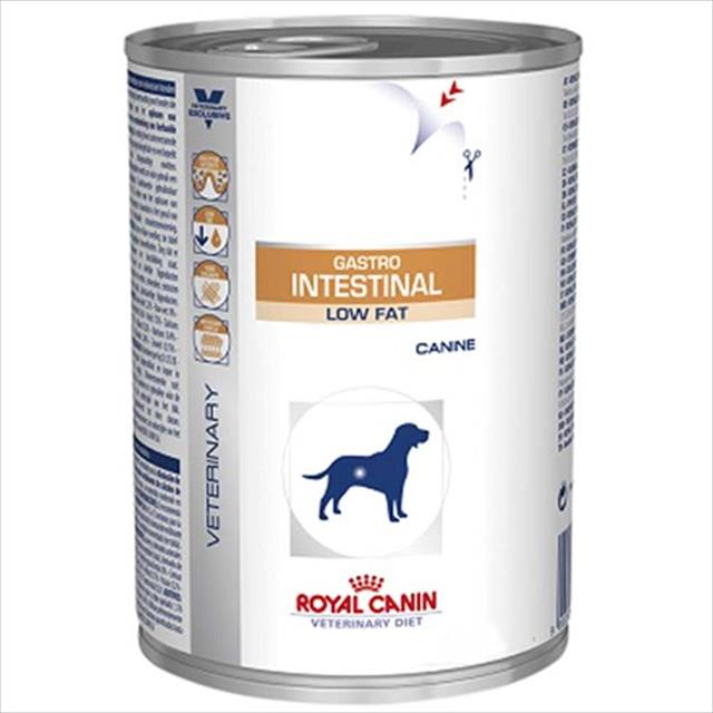 ração royal canin lata canine veterinary diet gastro intestinal low fat wet - 410 g