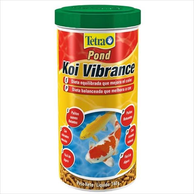ração tetra pond koi vibrance sticks em palitos - 3,8kg