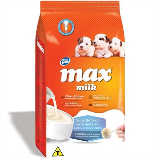 ração total max milk subtituto do leite materno para cães filhotes até 4 semanas - 350gr
