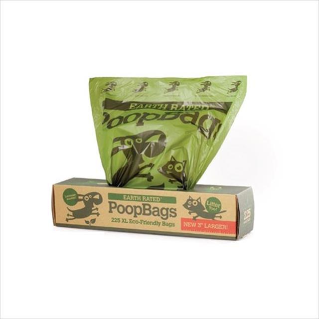rolo sacola duki super resistente biodegradável anti odor - 225 sacolas