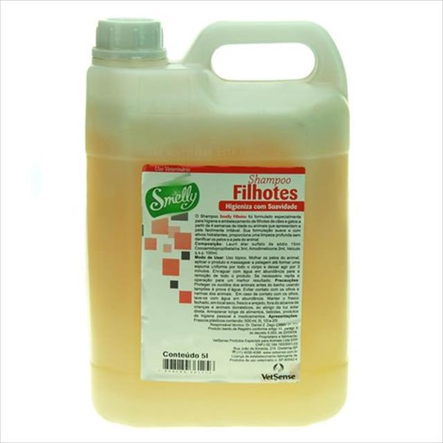 shampoo smelly filhotes - 5l