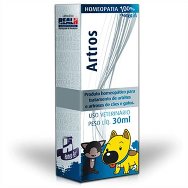 sistema de terapia homeopet artrose e artrite artros - 30ml