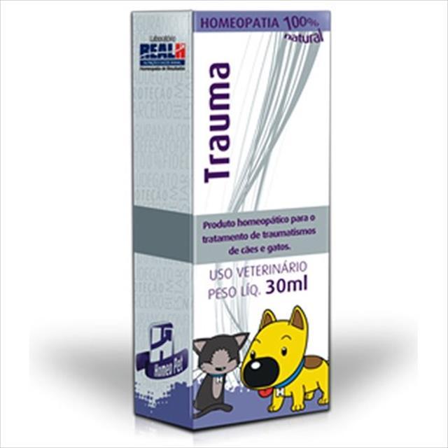 sistema de terapia homeopet tratamento da dor trauma - 30ml