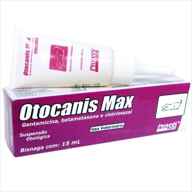 solução otológica provets otocanis max - 15ml